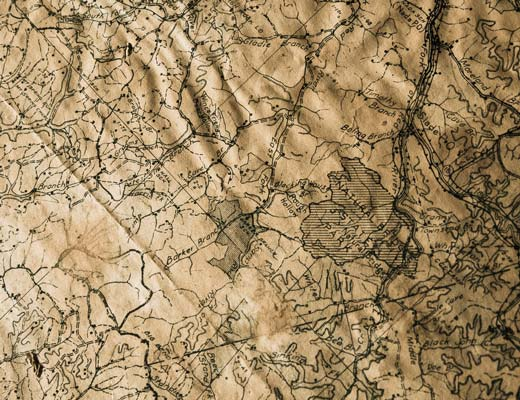 16th century map picture
