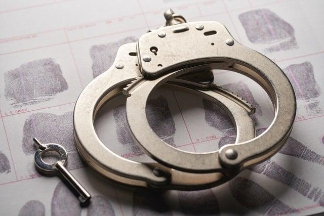 Handcuffs for idaho hemp arrests